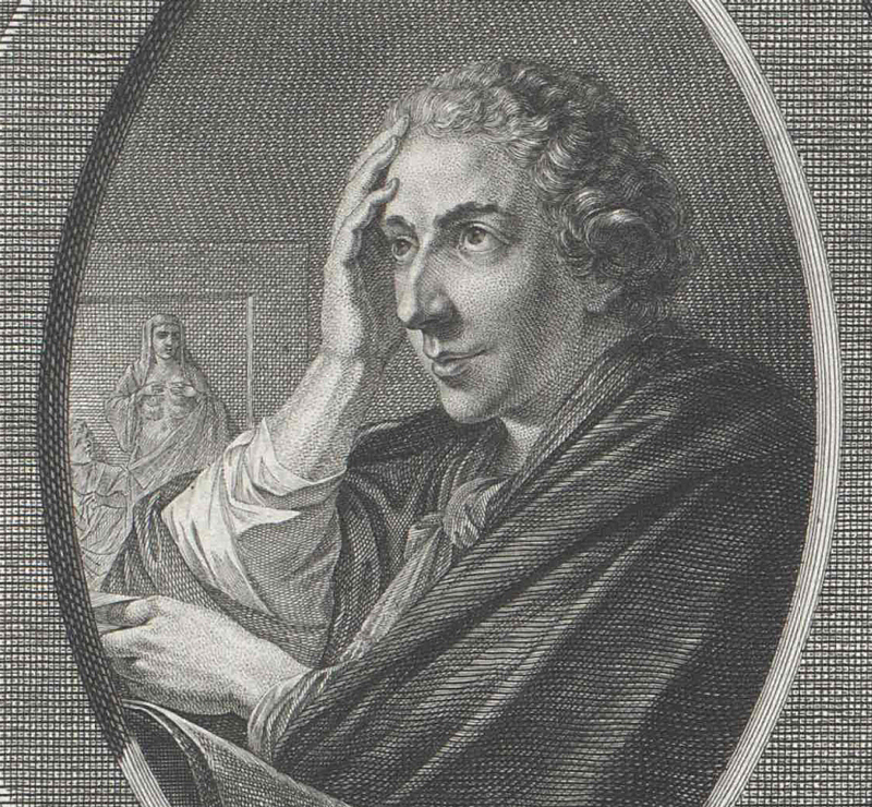 Ignaz von Born, captured in a moment when he was quite probably thinking about neither the amalgamation process, nor The World Congress of Metallurgists. Resource: Austrian National Library